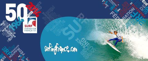 La newsletter de la Fédération Française de Surf