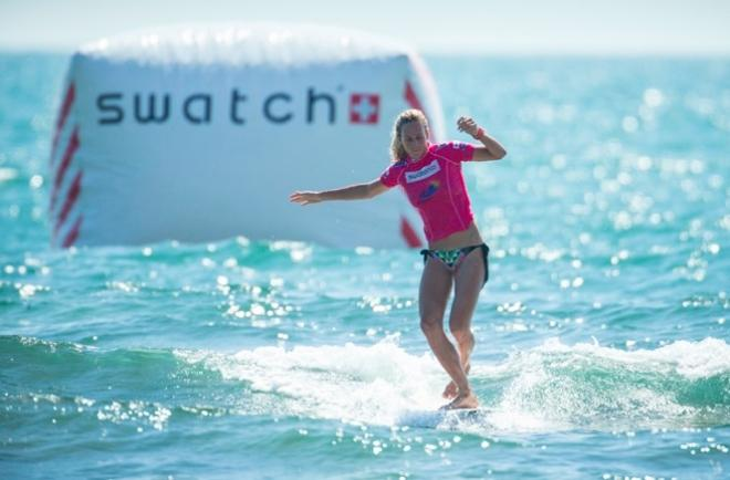 Justine Dupont by Damien Poullenot Swatch/ASP