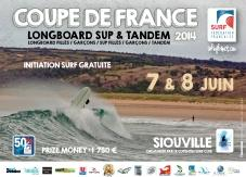 Siouville accueille longboard, SUP et tandem