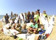 Stage d'été dans le sud Landes pour l'ensemble des espoirs du surf français.