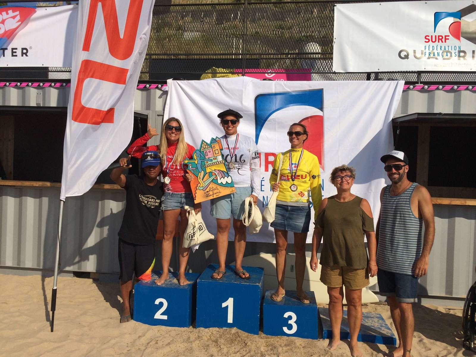 Podium Dames Masters France Masters longboard FFS