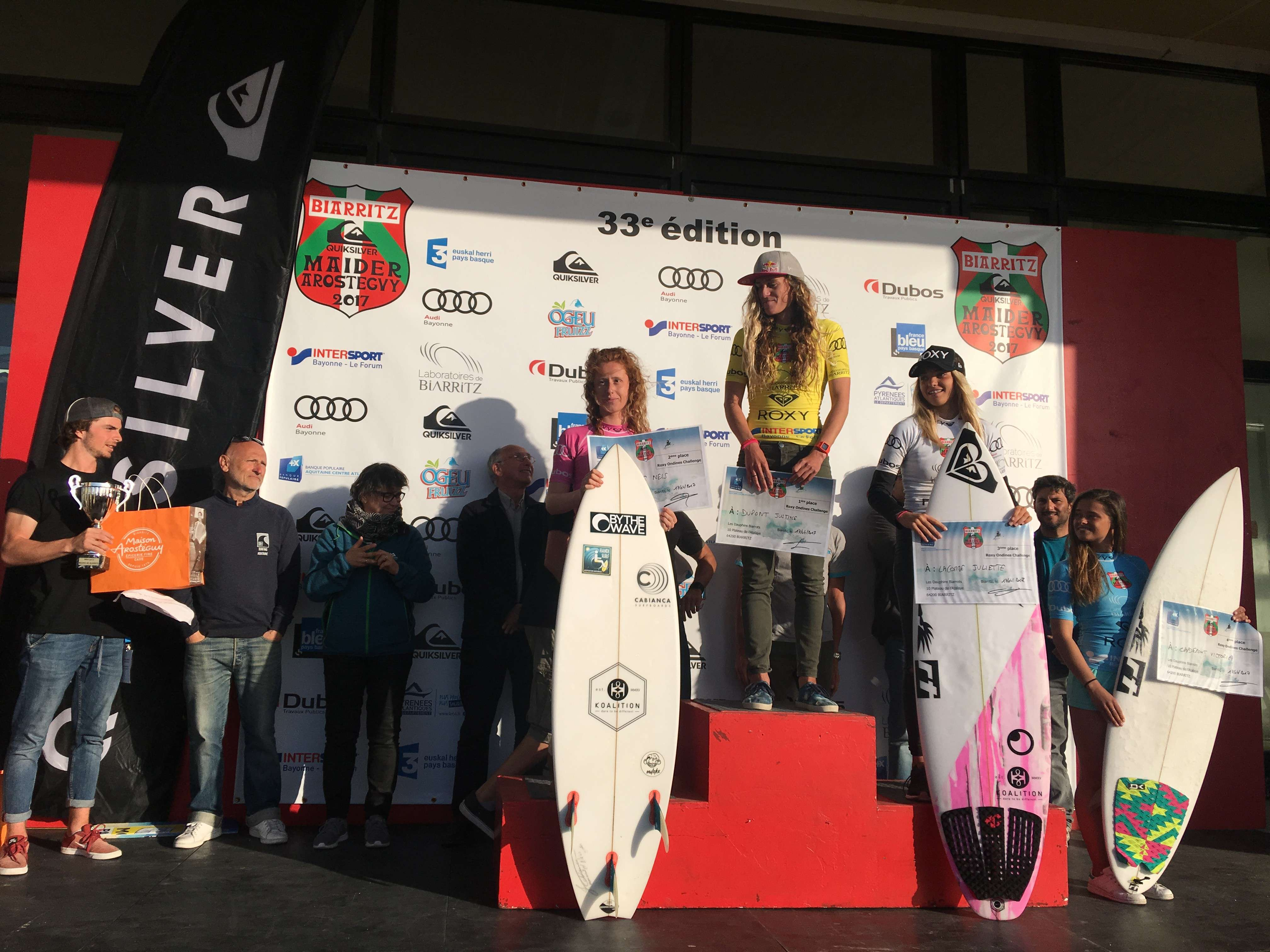 podium ondines