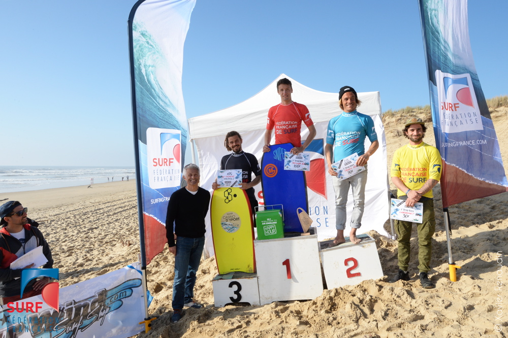CDF Bodyboard Royan 14042018 podium Drop Knee X.Renaudin