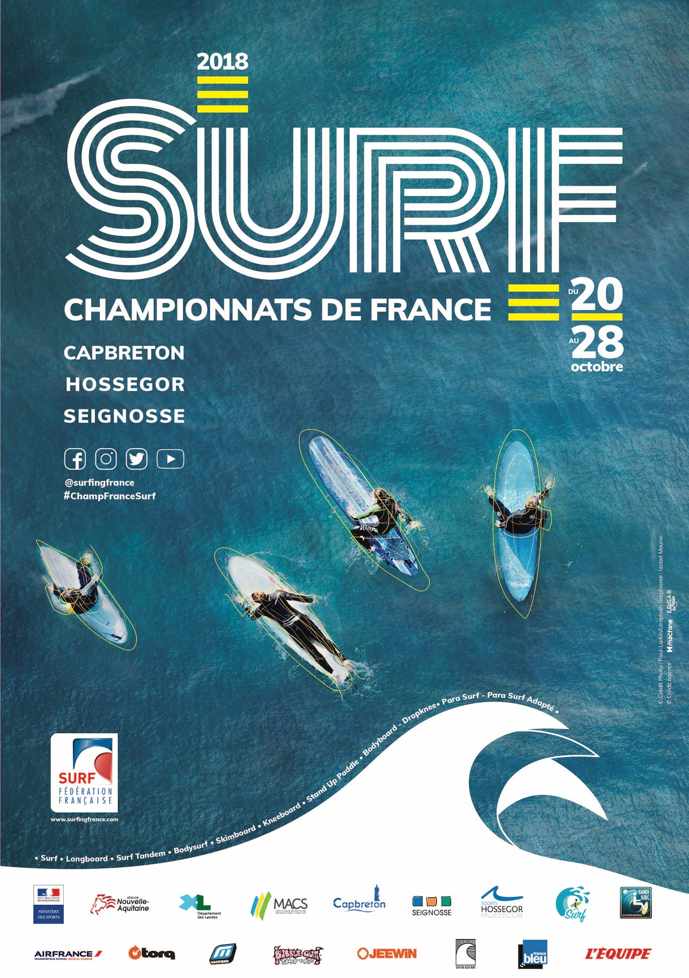 AFFICHE A2 SURF LIGHT