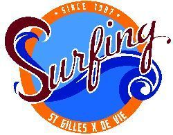 Logo Ecole Surfing St Gilles