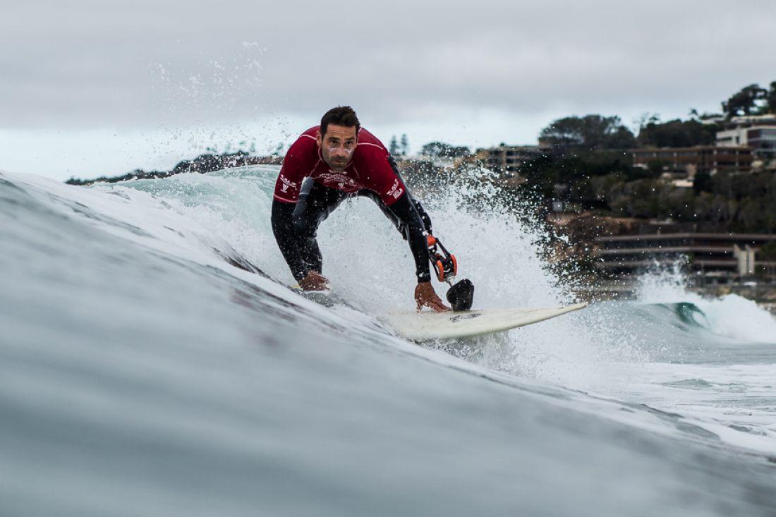 d309844178e3f9 Eric Dargent apporte la toute première médaille de l  039 histoire du handi  Surf