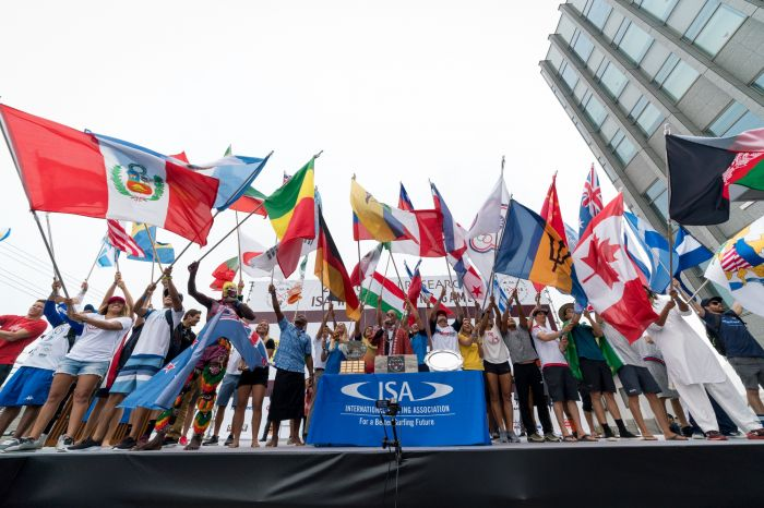 Record de pays aux Vans ISA World Surfing Games 2019