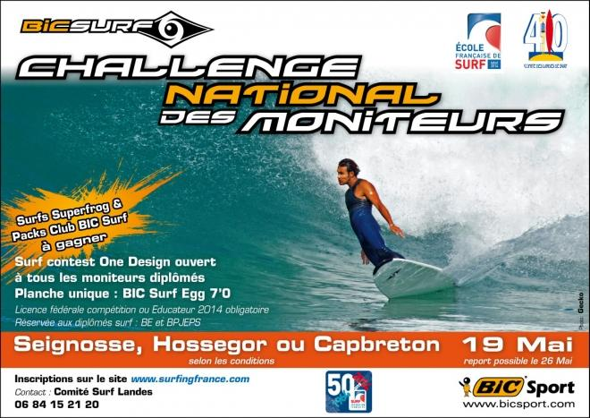 Report du Challenge National des moniteurs