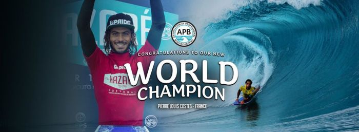 Pierre-Louis Costes champion du monde !